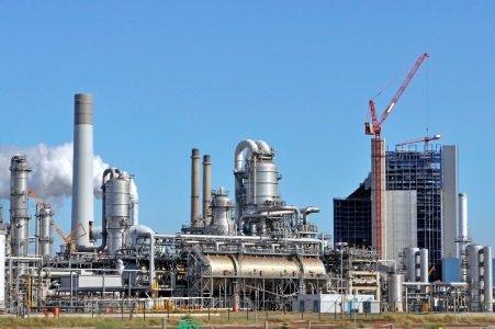 Gas, petroquímica