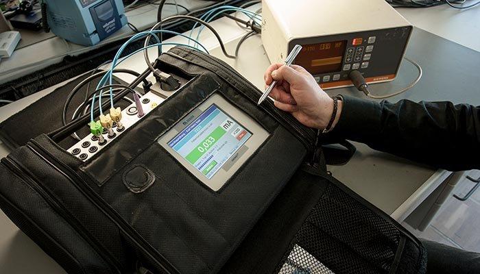 Medición del aislamiento de equipos eléctricos y electromédicos